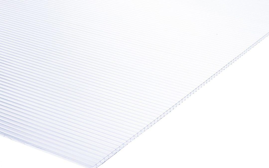 Plancha Policarbonato Alveolar 1.05m x 2.90m x 10mm Opal