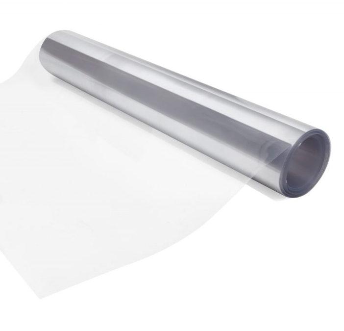 Rollo plano de policarbonato 1.10m x 20m x 0.5mm Transparente COVID